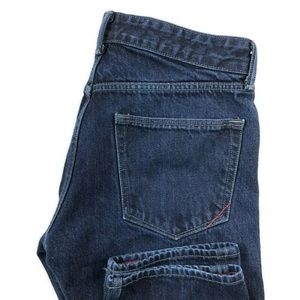 Banana Republic Slim Dark Wash Blue Jeans